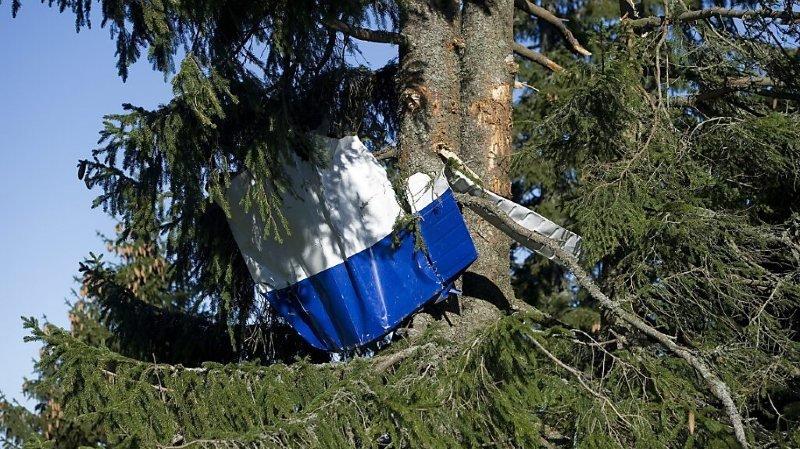 Crash d'un planeur à Montricher: probable ennui de santé du pilote