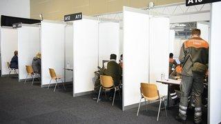 Lausanne: le méga centre de vaccination de Beaulieu a ouvert lundi
