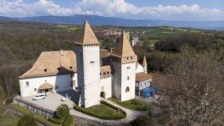 Une visite immersive au château de La Sarraz