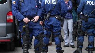 La police se prépare à une manif anti-mesures-Covid à Berne