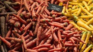 Alimentation: les Suisses ont mangé près de 9 kilos de carottes par personne en 2020