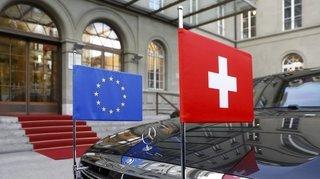 Accord-cadre: la secrétaire d'Etat Livia Leu discute avec Bruxelles
