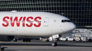 Transport aérien: Swiss prévoit un plan de restructuration, 1700 postes concernés