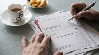 Votations fédérales: les cinq projets soumis au vote le 13 juin seraient acceptés