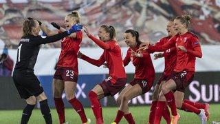Football - Qualification Euro dames: la Suisse passe à la raclette