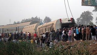 Egypte: un nouvel accident de train fait onze morts et près de 100 blessés