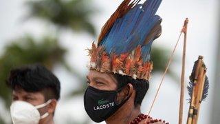 Manif de peuples indigènes au Brésil, «Böögg» zurichois brûlé en montagne, gros incendie au Cap,…: la galerie photos du 19 avril 2021