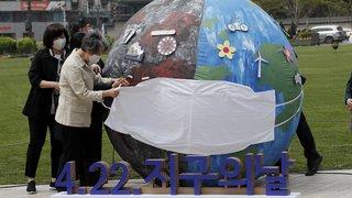 Journée de la Terre, Suisses au cinéma, grosse manif à Moscou: la galerie photos du 22 avril 2021