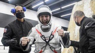Espace: retour sur Terre du vaisseau SpaceX avec les astronautes de l'ISS