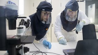 Berne: en labo, des chercheurs infectent des cellules humaines avec le coronavirus