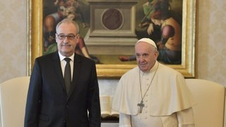 Vatican: Guy Parmelin rend visite au pape François