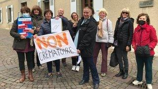 Nyon: plus de 1000 paraphes contre le crématoire
