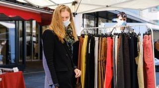 Nyon: les commerçants ont investi les rues