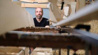 A Morges, un musée se mue en chantier naval le temps d'une expo
