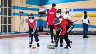 Les jeunes curleurs morgiens renouent avec la compétition
