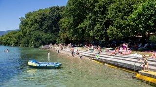 Prangins: cet été, la plage de Promenthoux ne sera plus payante