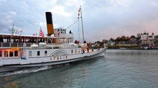 Les bateaux Belle Epoque vogueront sur le Léman dès dimanche
