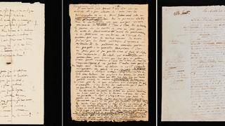 Manuscrits littéraires de grands écrivains à l'honneur à Montricher