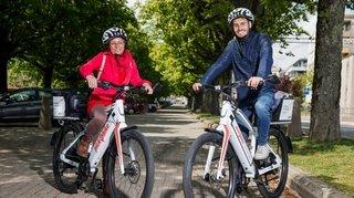 Aubonne possède désormais son réseau de vélos électriques