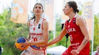 FIBA 3x3 de Mies: les Suissesses ont fini par prendre l'eau
