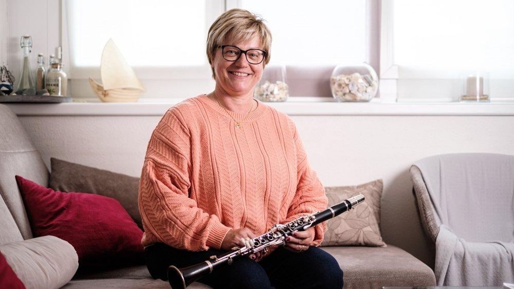 Le sourire n'est jamais loin lorsque Nicole Krummenacher évoque ses années passées à la tête de l'Ecole de musique de Nyon.