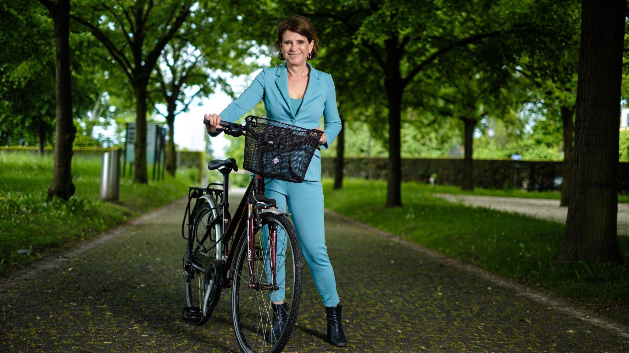 Dominique-Ella Christin est honorée du poste qu'elle va occuper et de la confiance des Pranginois.