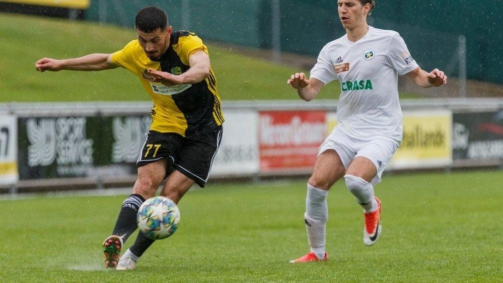 Le but de Tiago Escorza, sur penalty, n'a pu empêcher une nouvelle défaite du Stade Nyonnais.