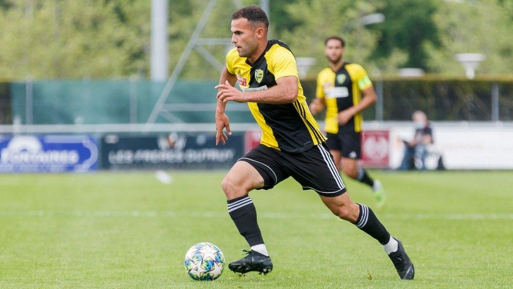 """Tiago Escorza et les """"jaune et noir"""" ont relevé la tête face au nouveau promu en Challenge League."""