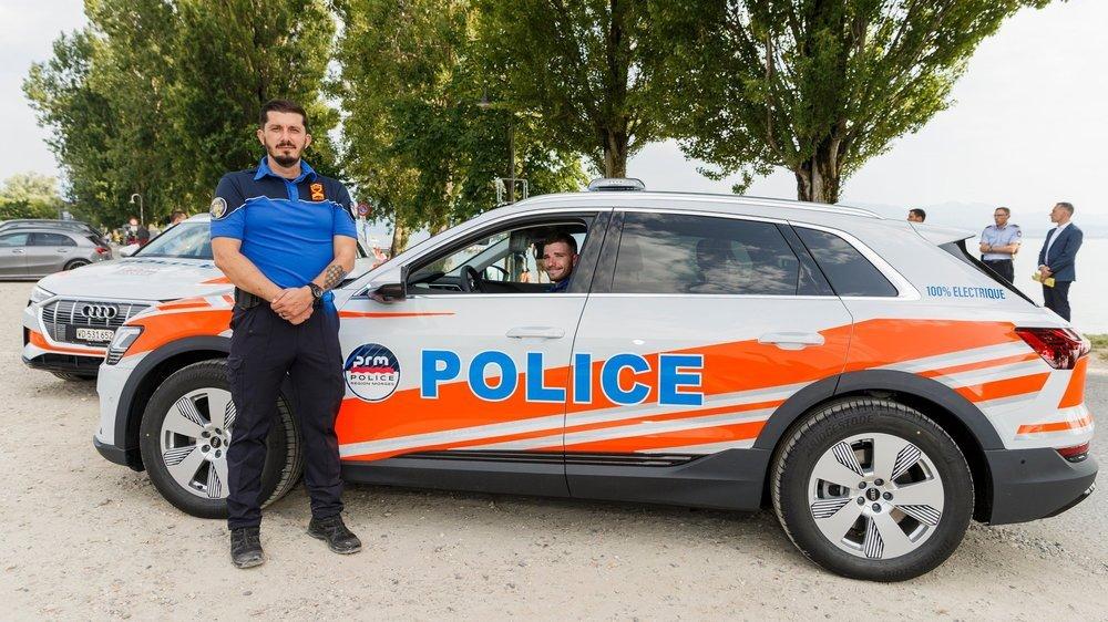 L'adjudant Sacha Trpkovski et l'agent Olivier Rime ont conduit toutes les études préalables à l'acquisition des nouveaux véhicules.