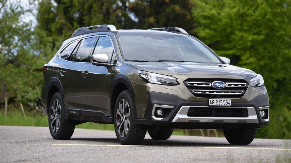 La Subaru Outback, modèle de sixième génération, reste fidèle aux fondamentaux de la marque.