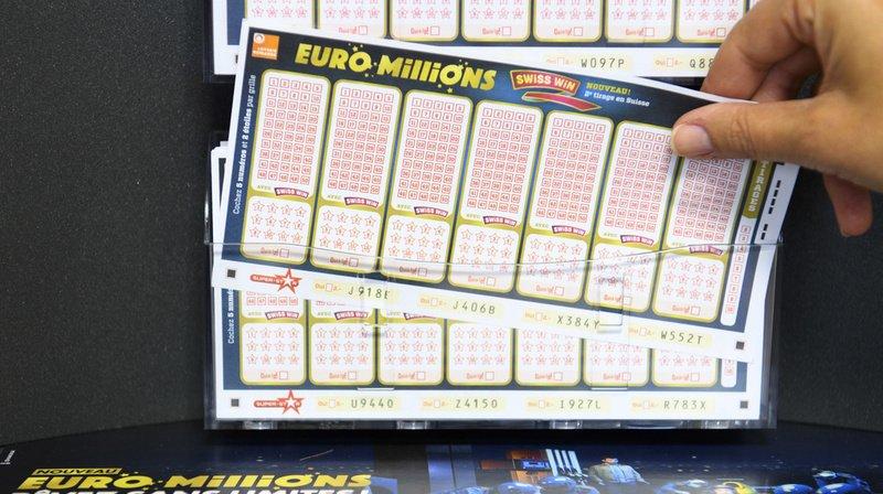Loterie: un joueur décroche le jackpot de l'EuroMillions