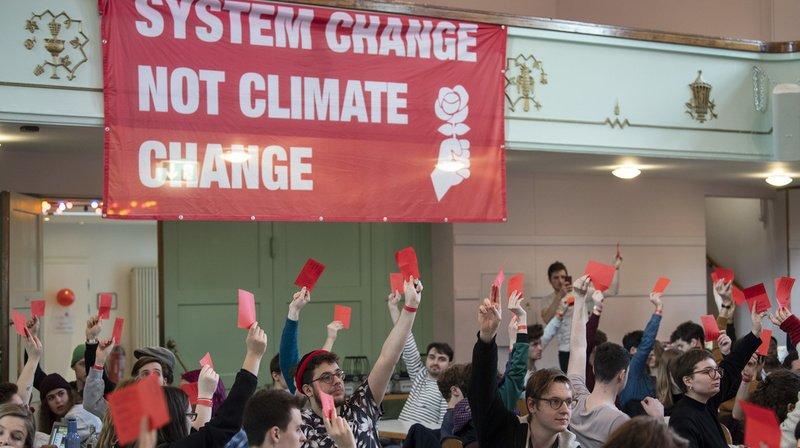 Climat: la JS Suisse veut limiter les grandes fortunes pour financer des mesures contre le réchauffement
