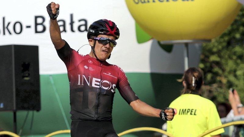 Cyclisme – Tour de Suisse: coup double de Carapaz en Valais