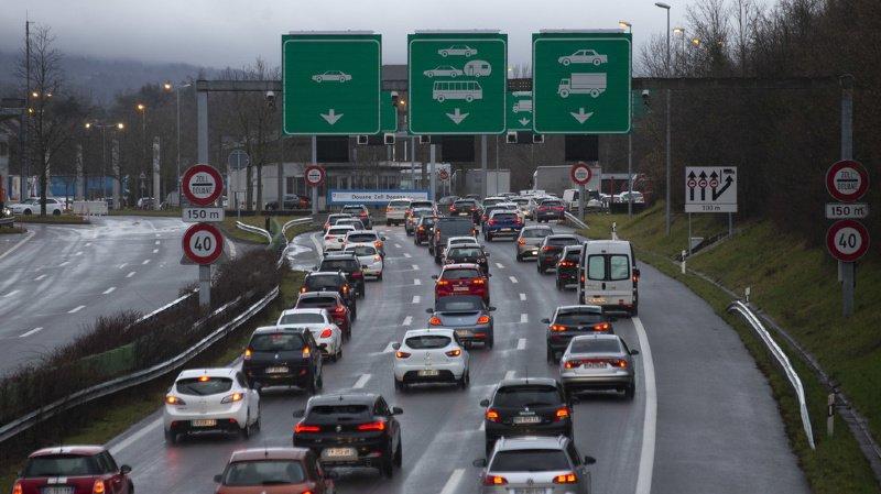 Le nombre de frontaliers en Suisse a plus que doublé en 25 ans
