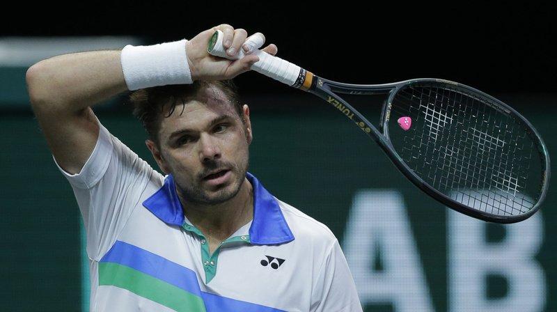 Tennis: Wawrinka encore opéré au pied gauche