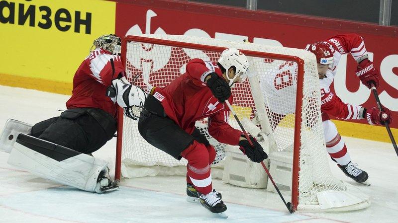 Hockey sur glace – Mondial: la Suisse s'incline face à la Russie