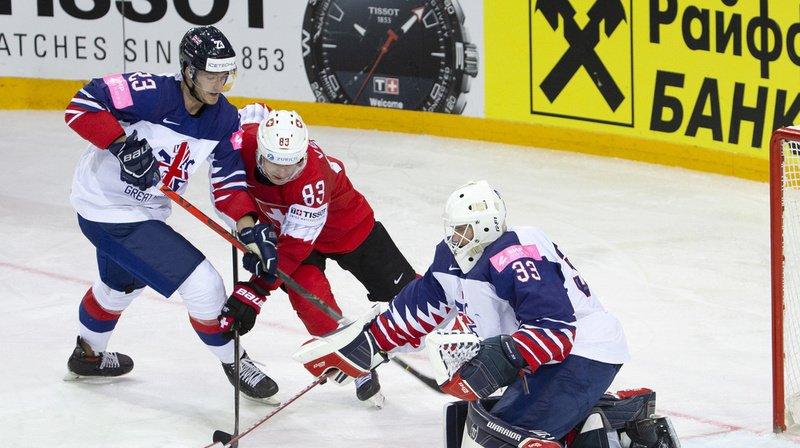 La Suisse a soigné ses statistiques en s'imposant contre la Grande-Bretagne.