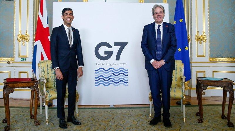 Accord «historique» au G7 sur un taux mondial pour l'impôt sur les sociétés «d'au moins 15%»