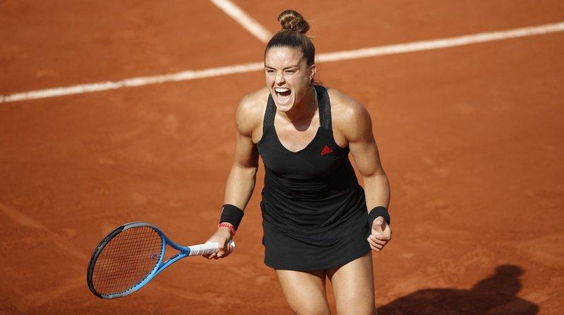 Après le succès de Stefanos Tsitsipas, Maria Sakkari offre une deuxième demi-finale pour la Grèce à Paris.