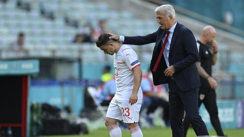 La rencontre Suisse-Pays de Galles s'est terminée sur un match nul (1-1) samedi.