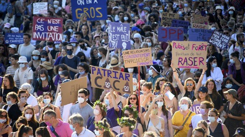 Grève des femmes: les femmes se sont mobilisées en nombre pour l'égalité