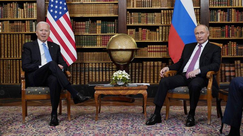 Revivez ici le sommet historique de Joe Biden et Vladimir Poutine à Genève