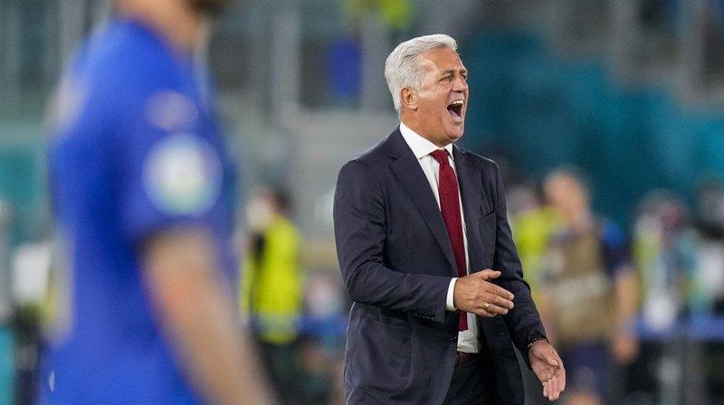Vladimir Petkovic n'a pas su enrayer la dynamique négative de l'équipe de Suisse face à l'Italie.
