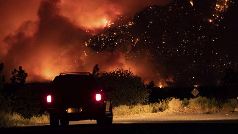 Canada: les incendies font rage dans l'Ouest du pays