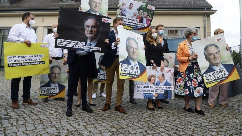 Allemagne: la CDU bat nettement l'extrême-droite