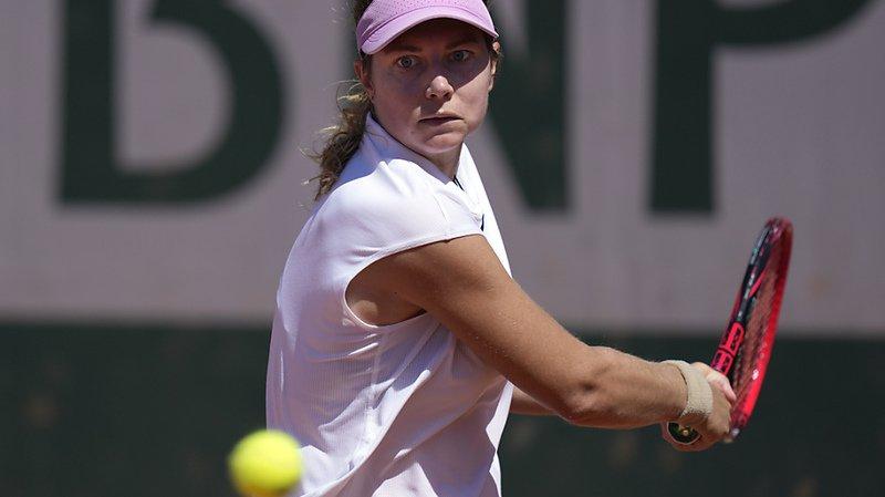Tennis – Roland-Garros: Stefanie Voegele sortie au 1er tour