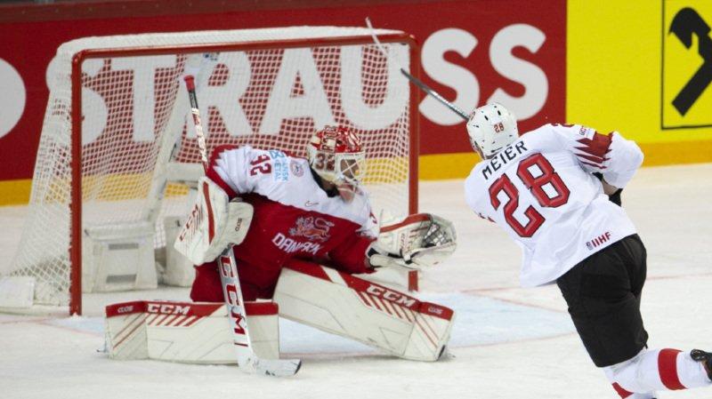 Timo Meier a une fois encore réussi à marquer et permis à la Suisse de l'emporter 1-0.
