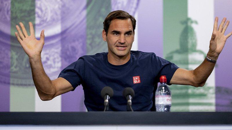 Tennis – Wimbledon: «Je suis gonflé à bloc», affirme Federer