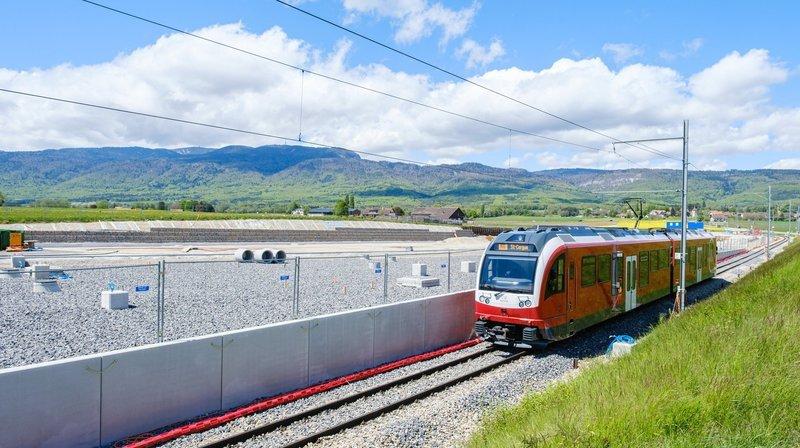 On ne verra pas le train traverser la plaine de l'Asse, ce week-end.