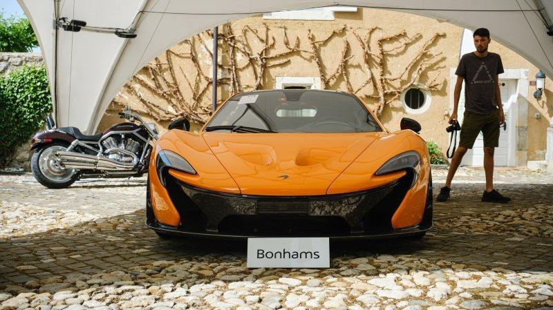 A Bonmont, il a plu des millions pour des voitures d'exception